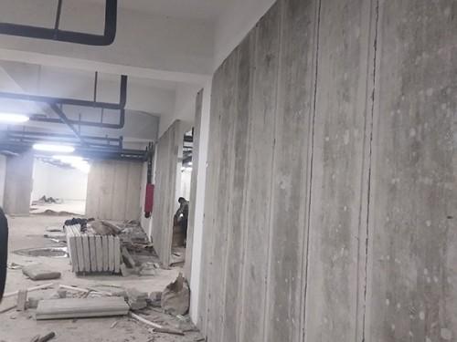 水泥防火隔墙板
